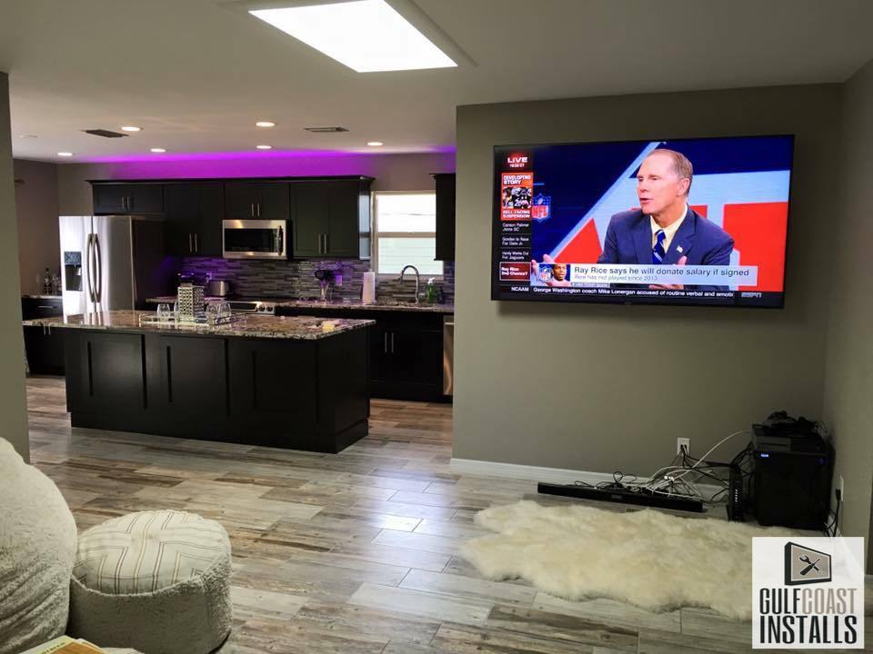 10 Pictures of TV Mounting Projects We Recently Completed in Naples, FL