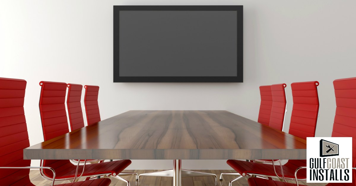 TV installation for office
