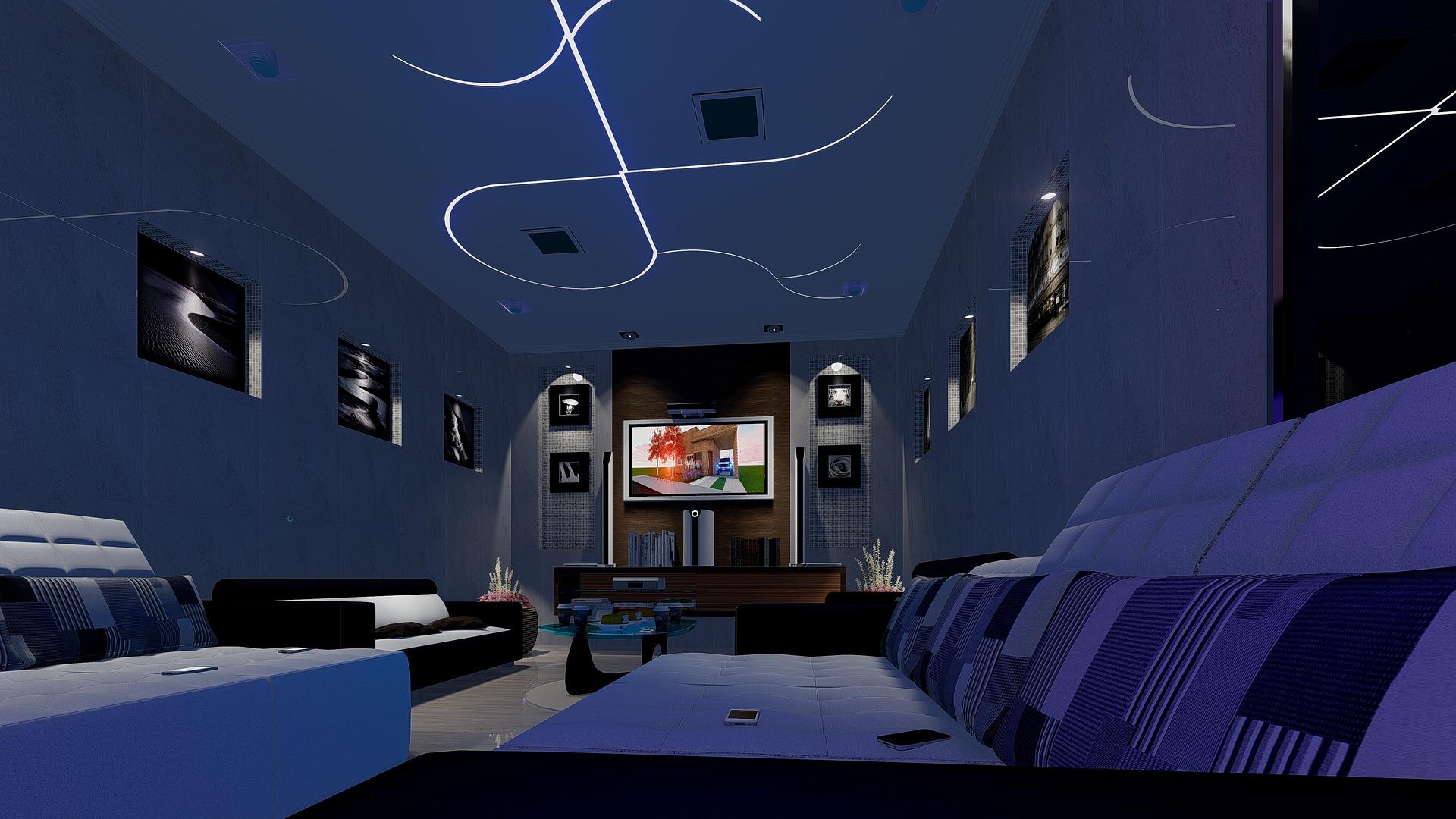home theatre installation tips from the pros. Black Bedroom Furniture Sets. Home Design Ideas