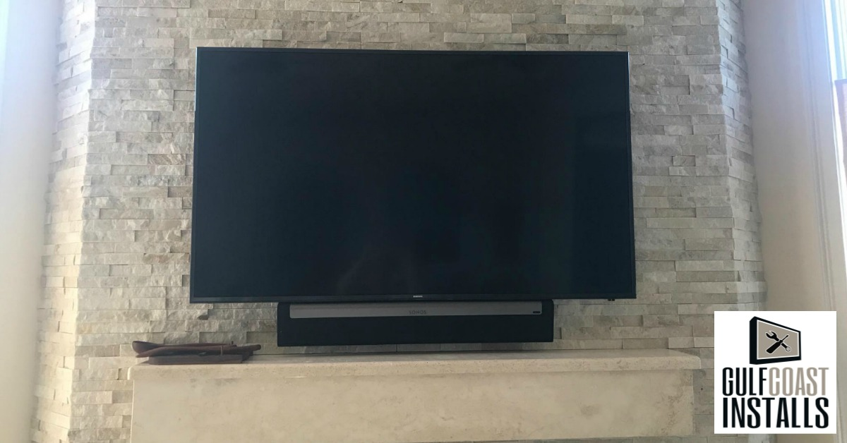 flat screen TV mounting service
