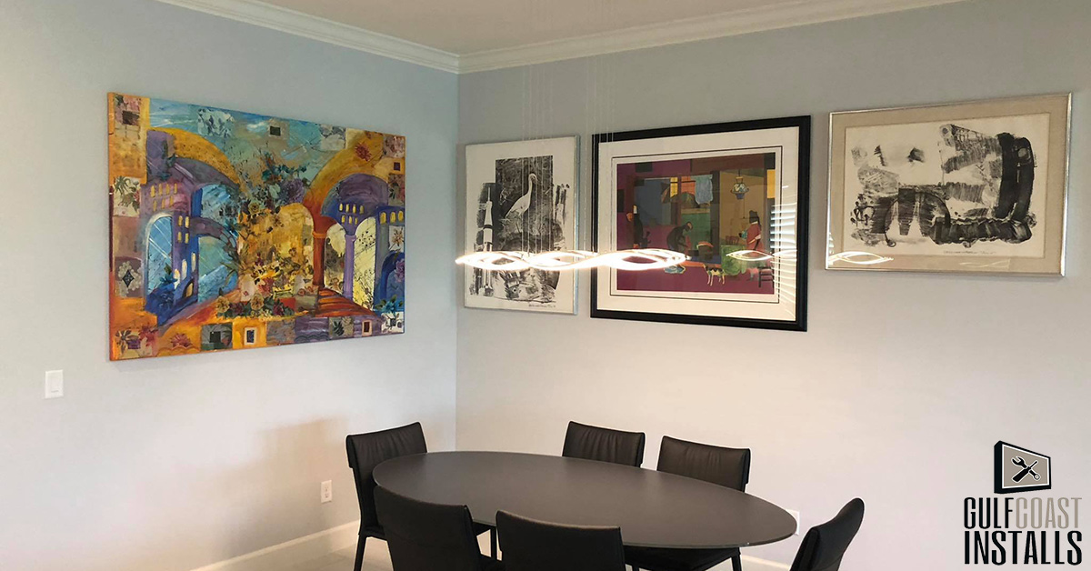 Picture Hanging Service: 5 Reasons Not to Hang Your Own Artwork