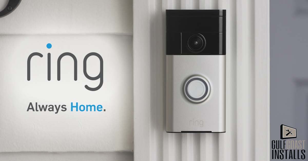 video doorbell installation