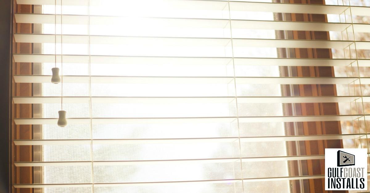 window blind installer