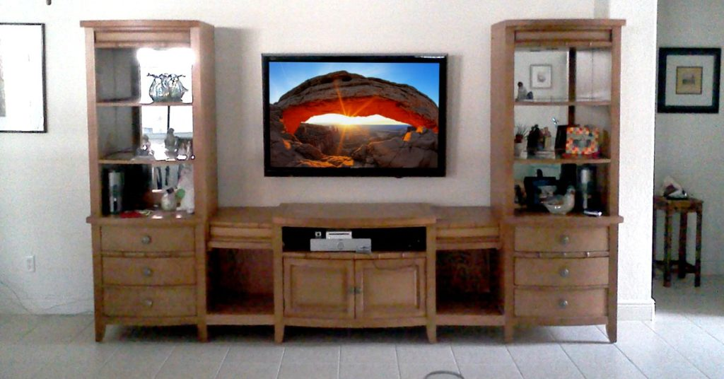 flat tv mounting naples