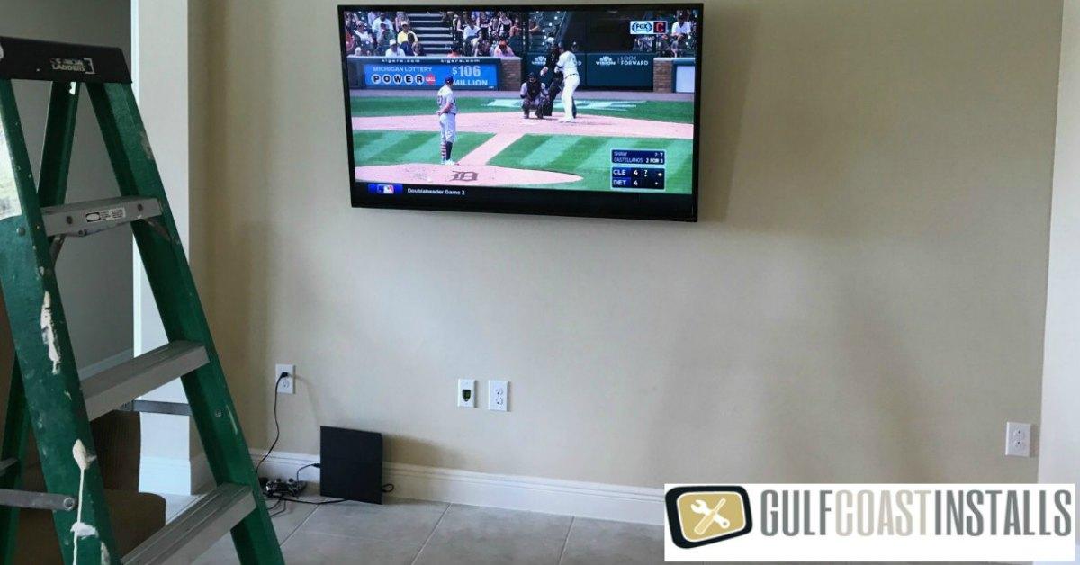 tv installation on wall cost