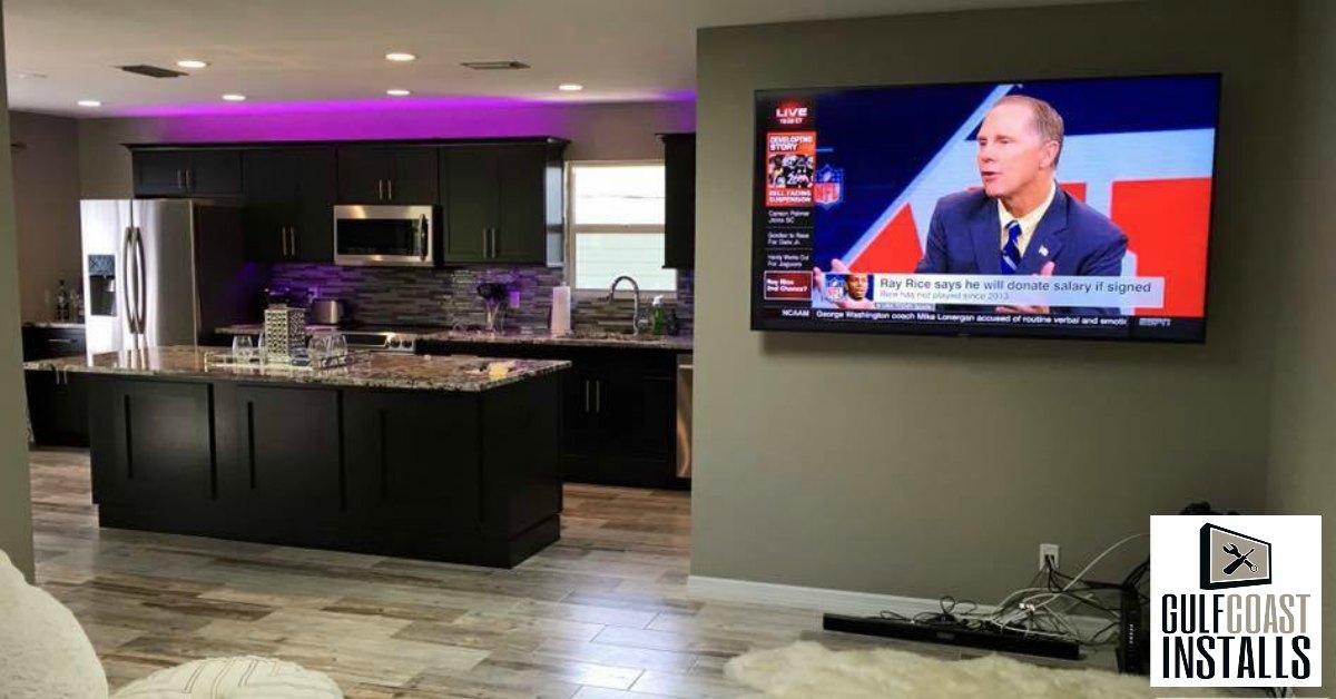 custom built cabinet installation
