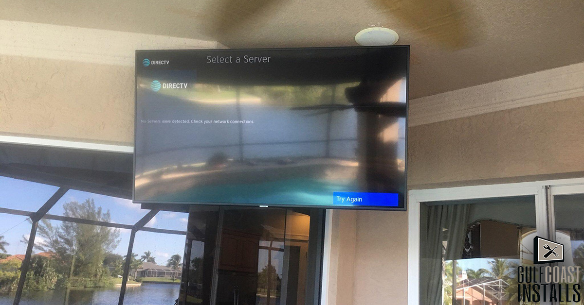 TV install price