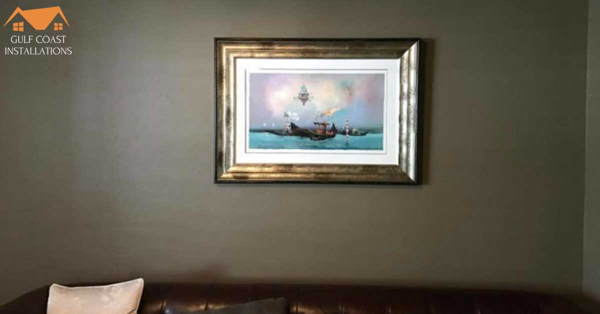 Art Installation in Tampa Bay: Matting Your Art Prints