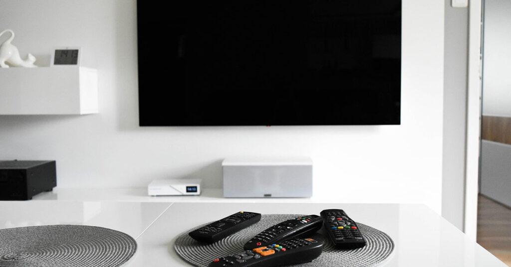 professional television installation